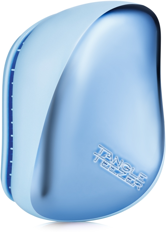 Spazzola per capelli - Tangle Teezer Compact Styler Sky Blue Delight Chrome