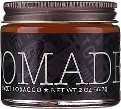Profumi e cosmetici Pomata per lo styling dei capelli - 18.21 Man Made Hair Pomade Sweet Tobacco Styling Product Medium Hold