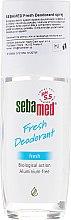 Profumi e cosmetici Deodorante - Sebamed Fresh Deodorant
