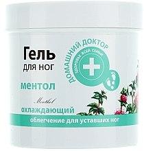 Profumi e cosmetici Gel piedi rinfrescante al mentolo - Domashnyi Doctor