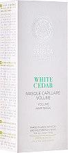 """Profumi e cosmetici Maschera capelli volumizzante """"Cedro bianco"""" - Natura Siberica Copenhagen White Cedar Volume Hair Mask"""
