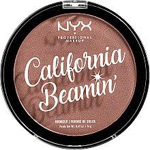 Profumi e cosmetici Bronzer viso e corpo - NYX Professional California Beamin Face & Body Bronzer