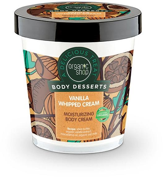 """Crema idratante corpo """"Panna-Vaniglia"""" - Organic Shop Body Desserts Vanilla Whipped Cream"""