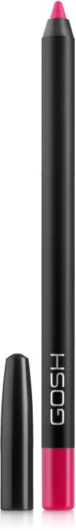 Matita per labbra resistente all'acqua - Gosh Velvet Touch Waterproof Lipliner