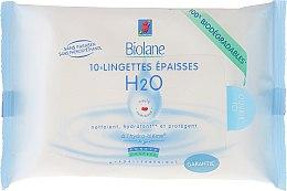 Profumi e cosmetici Salviette arricchiti per bambini - Biolane Baby H2O Napkins
