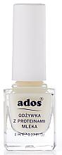 Profumi e cosmetici Balsamo per unghie con proteine del latte - Ados