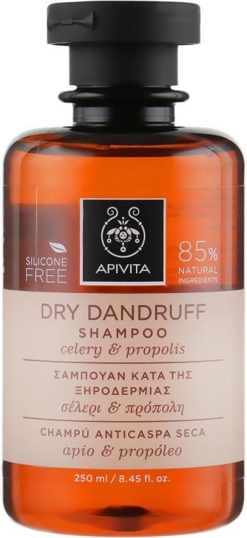 Shampoo antiforfora - Apivita Shampoo For Dry Dandruff With Celery Propolis