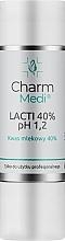 Profumi e cosmetici Acido lattico 40% - Charmine Rose Charm Medi Lacti 40% pH 1.2