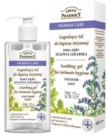 Gel lenitivo per l'igiene intima - Green Pharmacy Soothing Gel