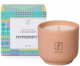 "Profumi e cosmetici Candela di soia ""Menta"" - Mys Peppermints Candle"