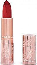 Profumi e cosmetici Rossetto labbra opacizzante - Nabla Cult Matte Soft Touch Lipstick