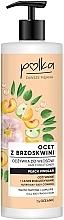 Profumi e cosmetici Balsamo per capelli all'aceto di pesca - Polka Peach Vinegar Conditioner