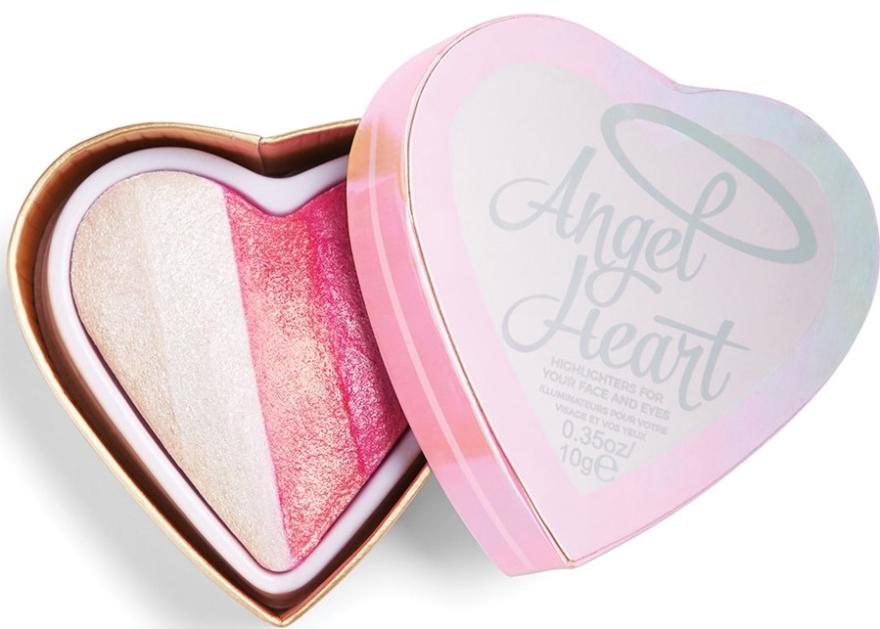 Palette highlighter - I Heart Revolution Angel Heart