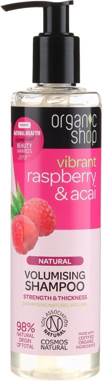 Shampoo volumizzante - Organic Shop Raspberry & Acai Volumising Shampoo