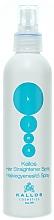 Profumi e cosmetici Spray lisciante per capelli - Kallos Cosmetics Hair Straightener Spray