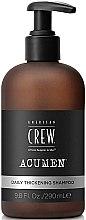 Profumi e cosmetici Shampoo sigillante per capelli - American Crew Acumen Daily Thickening Shampoo