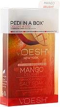 """Profumi e cosmetici Set per pedicure """"Mango"""" - Voesh Pedi In A Box Deluxe 4 Step Pedicure Mango Delight"""
