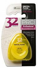 """Profumi e cosmetici Filo interdentale """"32 Pearls PRO"""", custodia giallo - Modum 32 Pearls Dental Floss"""