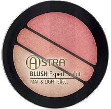 Profumi e cosmetici Blush - Astra Make-up Blush Expert Sculpt