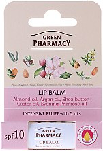 Profumi e cosmetici Balsamo labbra con 5 oli - Green Pharmacy Lip Balm With 5 Oils SPF 10
