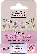 Balsamo labbra con 5 oli - Green Pharmacy Lip Balm With 5 Oils SPF 10 — foto N1
