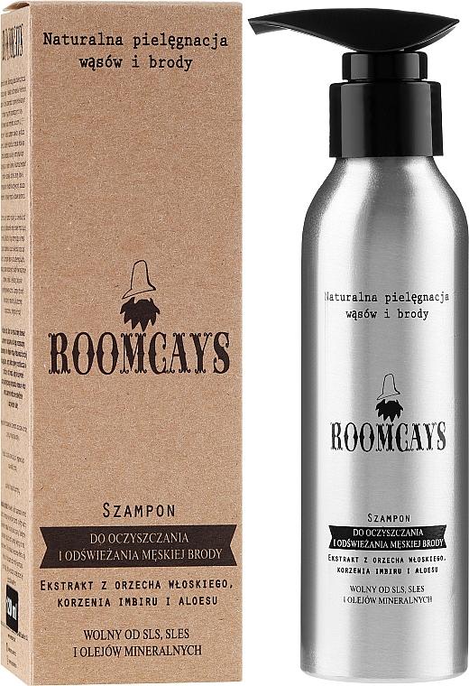 Shampoo per la pulizia della barba - Roomcays Shampoo — foto N1