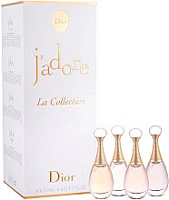 Profumi e cosmetici Dior J'Adore La Collection - Set (edt/2x5ml + edp/2x5ml)