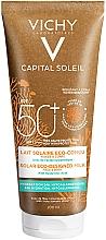 Profumi e cosmetici Latte solare idratante per viso e corpo - Vichy Capital Soleil Solar Eco-Designed Milk SPF 50+