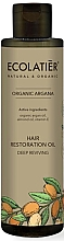 "Profumi e cosmetici Olio per capelli ""Recupero profondo"" - Ecolatier Organic Argana Hair Restoration Oil"