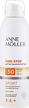 Profumi e cosmetici Spray solare corpo - Anne Moller Non Stop Active Sun Invisible Mist SPF50