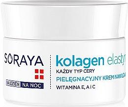 Profumi e cosmetici Crema idratante - Soraya Kolagen i Elastyna Moisturizing Cream
