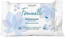 Profumi e cosmetici Salviette rinfrescanti per l'igiene intima - Oriflame Feminelle Refreshing Intimate Wipes
