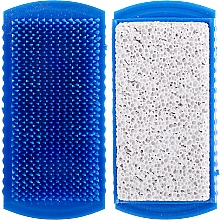 Profumi e cosmetici Pietra pomice con spazzola, 71041, blu - Top Choice