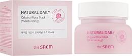 Profumi e cosmetici Maschera idratante ai petali di rosa - The Saem Natural Daily Original Rose Mask