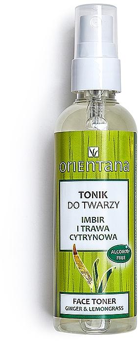 "Tonico viso ""Zenzero e citronella"" - Orientana Face Toner Ginger & Lemongrass — foto N1"