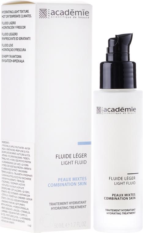 Fluido idratante leggero per il viso - Academie Visage Light Fluid — foto N1