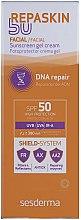 Profumi e cosmetici Crema-gel protezione solare SPF50+ - SesDerma Laboratories Repaskin Sunscreen Gel-Cream SPF 50+