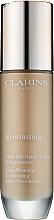 Profumi e cosmetici Fondotinta - Clarins Everlasting Long-Wearing And Hydrating Matte Foundation