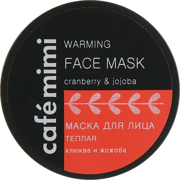 """Maschera viso """"Mirtillo rosso e jojoba"""" - Cafe Mimi Face Mask"""