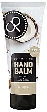 Profumi e cosmetici Balsamo mani con olio di cocco ed estratto di burro di karité - Cosmepick Hand Balm Coco&Shea Butter