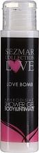 Profumi e cosmetici Bagnoschiuma - Sezmar Collection Love Love Bomb Aphrodisiac Shower Gel (mini)