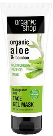 "Maschera-gel viso ""Aloe del Madagascar"" - Organic Shop Gel Mask Face"