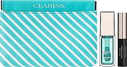 Profumi e cosmetici Set - Clarins Candy Box Mint (lip/oil/mint/7ml + mascara/3,5ml + pounch)