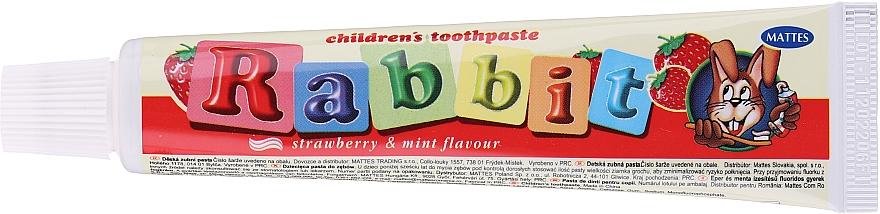 Set - Mattes Rabbit Children (toothpaste/80g + toothbrush)