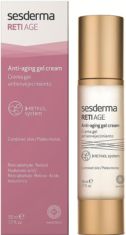 Crema-gel anti-età - SesDerma Laboratories RetiAge Anti-aging Gel Cream — foto N1