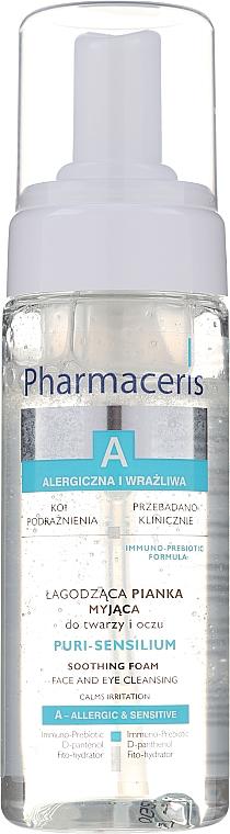 Schiuma detergente delicata - Pharmaceris A Puri Sensilium Soothing Foam