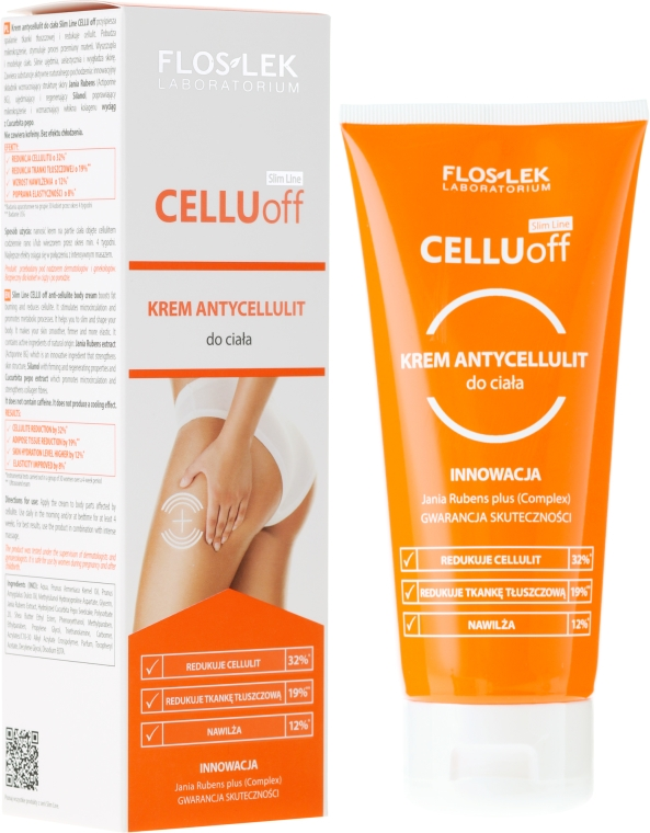 Crema anticellulite - Floslek Slim Line Anti-Cellulite Body Cream Cellu Off