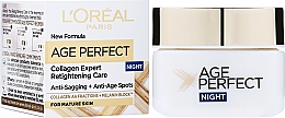 Crema nutriente, da notte - L'Oreal Paris Age Perfect ReHydrating Night Cream — foto N2
