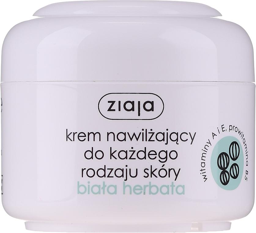 """Crema viso bio idratante per pelli grassi e miste """"Tè bianco"""" - Ziaja Cream White Tea"""