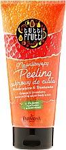 """Scrub corpo allo zucchero """"Arancio e fragola"""" - Farmona Tutti Frutti Sugar Body Scrub Orange & Strawberry — foto N1"""
